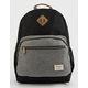 BENRUS Platoon Grey And Black Backpack
