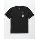 BRIXTON x Coors Filtered Black Mens Pocket Tee