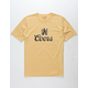 BRIXTON x Coors Colorado Beige Mens T-Shirt