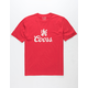 BRIXTON x Coors Colorado Red Mens T-Shirt