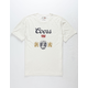 BRIXTON x Coors Hops Off White Mens T-Shirt