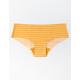 FULL TILT Stripe Laser Cut Mustard Panties