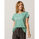 RVCA Zig Print Womens Pocket Tee