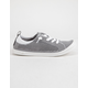 ROXY Bayshore Knit Grey Womens Shoes