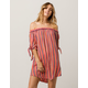 RIP CURL Sedona Off The Shoulder Coverup Dress