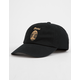 BRIXTON x Coors Filtered Black Mens Strapback Hat