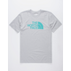 THE NORTH FACE Half Dome Triblend Grey Mens T-Shirt