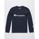 CHAMPION Heritage Navy Boys T-Shirt