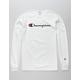 CHAMPION Heritage White Mens T-Shirt