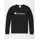 CHAMPION Heritage Black Mens T-Shirt