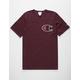CHAMPION C Applique Logo Team Maroon Mens T-Shirt