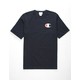 CHAMPION Screen Logo Navy Mens T-Shirt