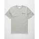 CHAMPION Embroidered Script Logo Heather Mens T-Shirt