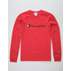 CHAMPION Heritage Red Mens T-Shirt
