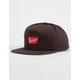 BRIXTON x Coors Banquet Brown Mens Snapback Hat