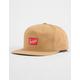 BRIXTON x Coors Banquet Tan Mens Snapback Hat