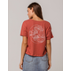 OTHERS FOLLOW Wave Womens Crop Tee