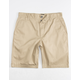 RVCA Week-end Mens Tan Slim Shorts