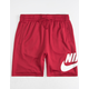 NIKE SB Dri-FIT Sunday Red Mens Sweat Shorts