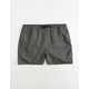VOLCOM Lido Charcoal Mens Volley Shorts