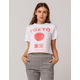FULL TILT Tokyo Japan Womens Crop Tee