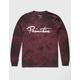 PRIMITIVE Nuevo Script Burgundy Mens T-Shirt