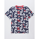 FILA Allover Print Boys T-Shirt