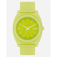 NIXON Time Teller P Citron Watch