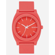 NIXON Time Teller P Coral Watch