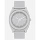 NIXON Time Teller P Gray Watch
