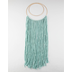 Hanging Turquoise Macrame