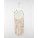 Circle Hanging Mirror Tassels Macrame