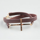 FULL TILT Cross Faux Leather Wrap Bracelet