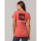 THE NORTH FACE Red Box Rose Womens Tee