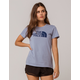 THE NORTH FACE Half Dome Dusty Blue Womens Tee