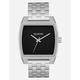 NIXON Time Tracker Silver Watch