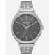 NIXON Clique Silver & Gray Watch