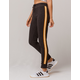 FULL TILT Stripe Jogger Charcoal Womens Sweatpants