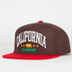 ELEMENT California Mens Snapback Hat