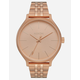 NIXON Clique Rose Gold Watch