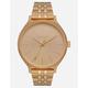 NIXON Clique Gold Watch