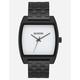 NIXON Time Tracker Black/White Watch