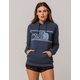 THE NORTH FACE Edge To Edge Blue Womens Hoodie