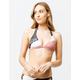 FOX Kingsport Fixed Halter Blush Bikini Top