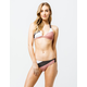 FOX Kingsport Lace Up Blush Bikini Bottoms