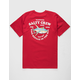 SALTY CREW Hotline Red Mens T-Shirt