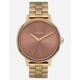 NIXON Kensington Gold & Marsala Watch