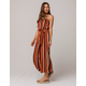SOPRANO Stripe Crop Womens Tube Jumpsuit