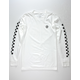 VANS Classic Circle V White Mens T-Shirt