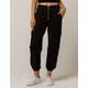 TINSELTOWN Black Womens Cargo Pants
